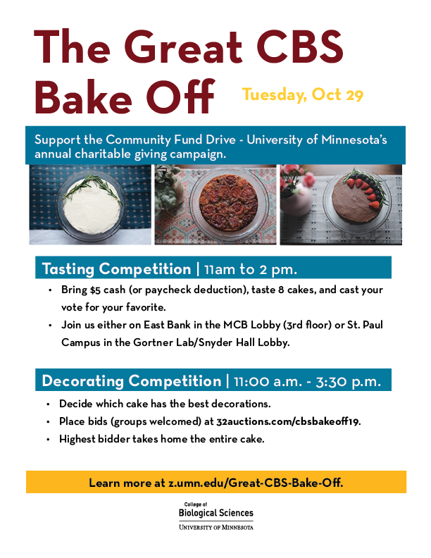 Cake Comm Fund Drive Flyer