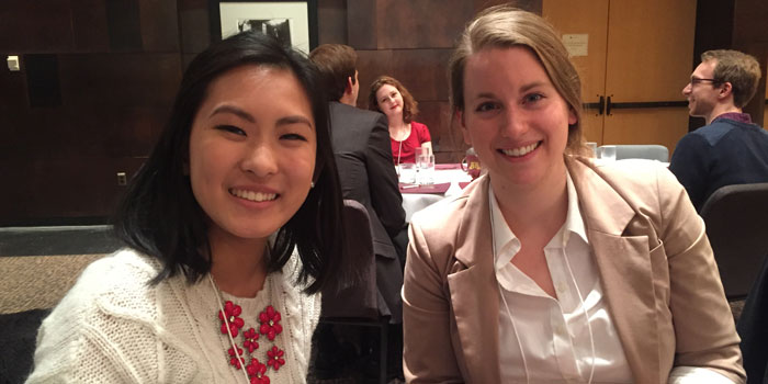 Christine Loo and Danielle Berglund