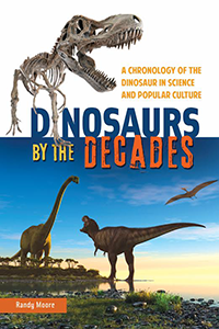 Dinosaurs by the decades book cover