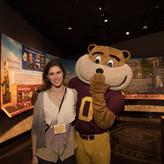 photo with goldy