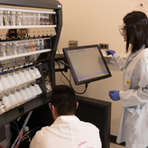 BMBB graduate students work in the Parker Lab
