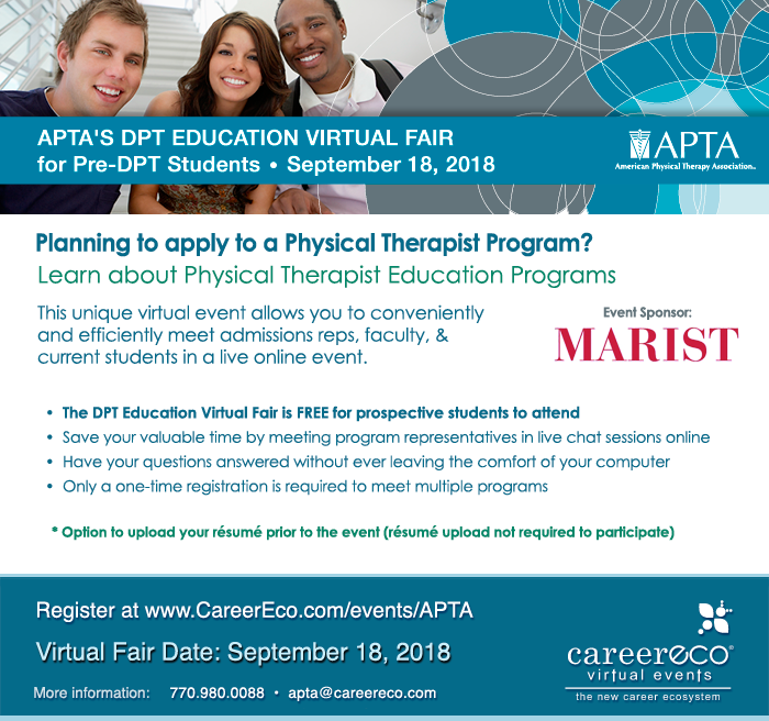 American Physical Therapy Association Virtual Fair